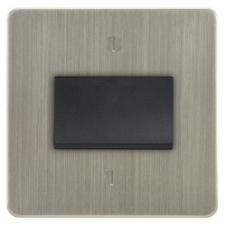 Focus SB Ambassador ASN56.1B fan isolator switch in Satin Nickel
