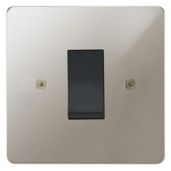 Focus SB Horizon HPN32.1B/SML 45 amp cooker control switch in Polished Nickel