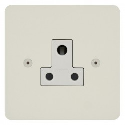 Focus SB Horizon HPW20.1W 1 gang 5 amp unswitched socket in Primed White with white inserts