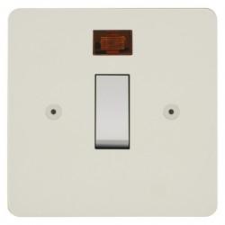 Focus SB Horizon HPW30.1 20 amp double pole rocker switch in Primed White