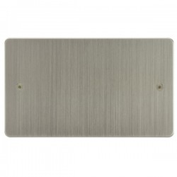 Focus SB Horizon HSN37.2 double blank plate in Satin Nickel