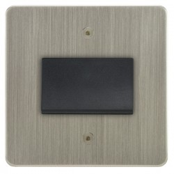 Focus SB Horizon HSN56.1B fan isolator switch in Satin Nickel