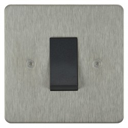 Focus SB Horizon HSS32.1B/SML 45 amp cooker control switch in Satin Stainless