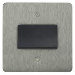 Focus SB Horizon HSS56.1B fan isolator switch in Satin Stainless