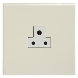 Focus SB Morpheus MPW19.1W 1 gang 2 amp unswitched socket in Primed White with white inserts