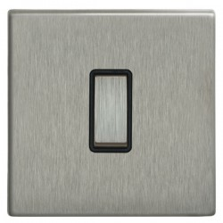 Focus SB Morpheus MSS11.1/3B 1 gang 20 amp Intermediate rocker switch in Satin Stainless