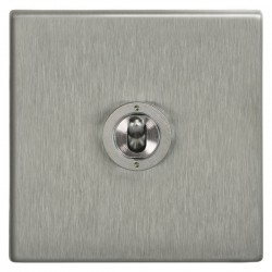 Focus SB Morpheus MSS14.1 1 gang 20 amp 2 way toggle switch in Satin Stainless