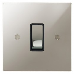Focus SB Ambassador Square Corners NAPN11.1/3B 1 gang 20 amp Intermediate rocker switch in Polished Nickel