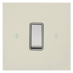 Focus SB Ambassador Square Corners NAPW10.1/3W 1 gang 20 amp Intermediate rocker switch in Primed White