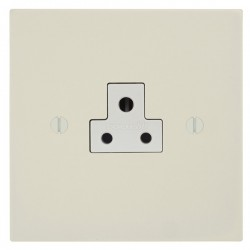 Focus SB Ambassador Square Corners NAPW19.1W 1 gang 2 amp unswitched socket in Primed White with white inserts