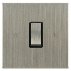 Focus SB Ambassador Square Corners NASN11.1/3B 1 gang 20 amp Intermediate rocker switch in Satin Nickel