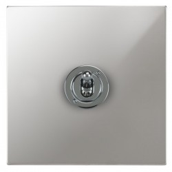 Focus SB Horizon Square Corners NHPC14.1 1 gang 20 amp 2 way toggle switch in Polished Chrome