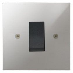 Focus SB Horizon Square Corners NHPC32.1B/SML 45 amp cooker control switch in Polished Chrome