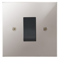 Focus SB Horizon Square Corners NHPS32.1B/SML 45 amp cooker control switch in Polished Stainless