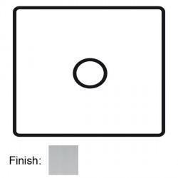Focus SB Horizon Square Corners NHSC69.1 1 gang flex outlet in Satin Chrome