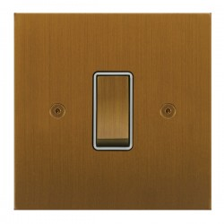 Focus SB True Edge TEABA11.1/3W 1 gang 20 amp Intermediate rocker switch in Bronze Antique
