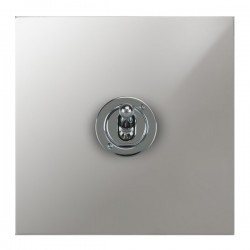 Focus SB True Edge TEAPC14.1/3 1 gang 20 amp Intermediate toggle switch in Polished Chrome