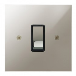 Focus SB True Edge TEAPN11.1/3B 1 gang 20 amp Intermediate rocker switch in Polished Nickel