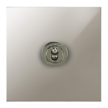 Focus SB True Edge TEAPN14.1 1 gang 20 amp 2 way toggle switch in Polished Nickel