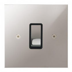 Focus SB True Edge TEAPS11.1/3B 1 gang 20 amp Intermediate rocker switch in Polished Stainless