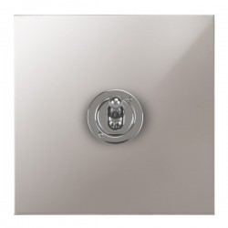 Focus SB True Edge TEAPS14.1 1 gang 20 amp 2 way toggle switch in Polished Stainless