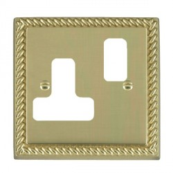 Hamilton Cheriton Georgian Grid Polished Brass SS1 Grid Fix Aperture Plate