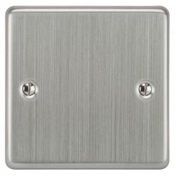 Focus SB Victorian VSC37.1 single blank plate in Satin Chrome