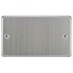 Focus SB Victorian VSC37.2 double blank plate in Satin Chrome