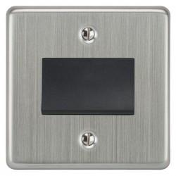 Focus SB Victorian VSC56.1B fan isolator switch in Satin Chrome