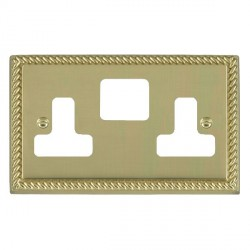 Hamilton Cheriton Georgian Grid Polished Brass SS2 Grid Fix Aperture Plate