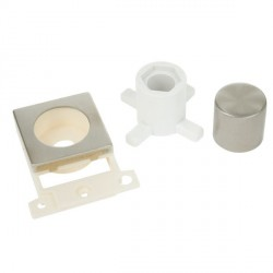 Click Minigrid MD150SS Stainless Steel Dimmer Module Mounting Kit