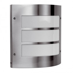 Ansell Acqua Inox Stainless Steel Wall Light with PIR Sensor