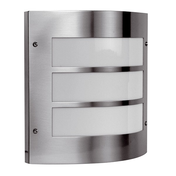 Ansell External Wall Lights : Ansell Acqua Inox Stainless Steel Wall Light at UK Electrical Supplies.