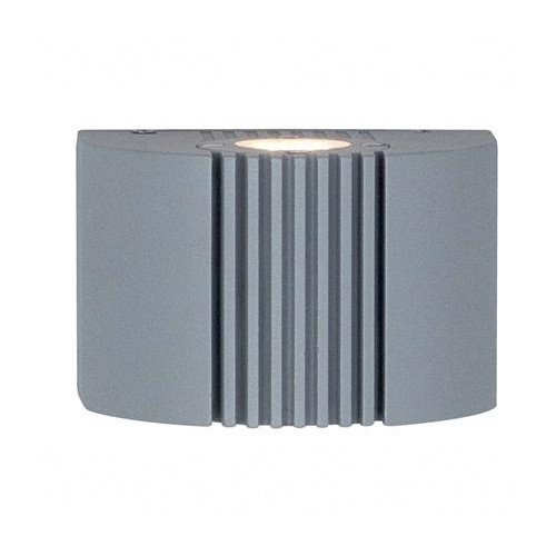 Ansell Anzio LED Silver Grey Wall Light at UK Electrical Supplies.