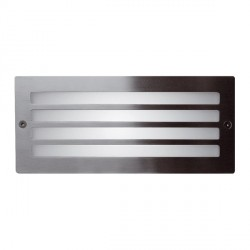 Ansell Stainless Steel Bricklight with Grill