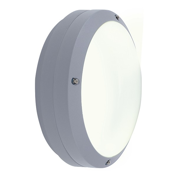 Wall Lamp Hurricane I Light Grey : Ansell Canto LED Silver Grey Wall Light at UK Electrical Supplies.
