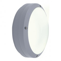Ansell Canto LED Silver Grey Wall Light with Emergency Battery Backup