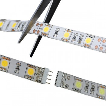 Ansell Cobra 5m Warm White Flexible Plug and Play LED Strip