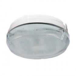 Ansell Delta CFL 28W White Bulkhead with Prismatic Diffuser