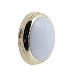 Ansell Brass Trim Ring for Disco Wall/Ceiling Lights