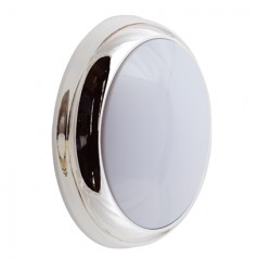 Ansell Chrome Trim Ring for Disco Wall/Ceiling Lights
