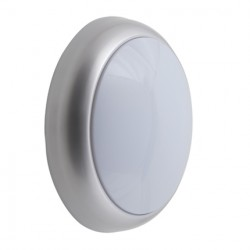 Ansell Silver Grey Trim Ring for Disco Wall/Ceiling Lights