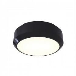 Ansell Delta LED 14W Black Bulkhead