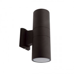 Ansell Duo Midi Black Wall Light