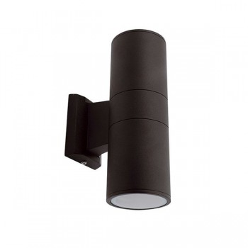 Ansell Duo Midi Black Wall Light