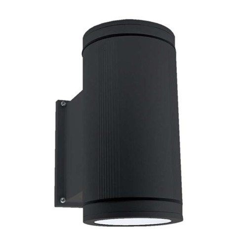 Ansell External Wall Lights : Ansell Duo Maxi Black Wall Light at UK Electrical Supplies.