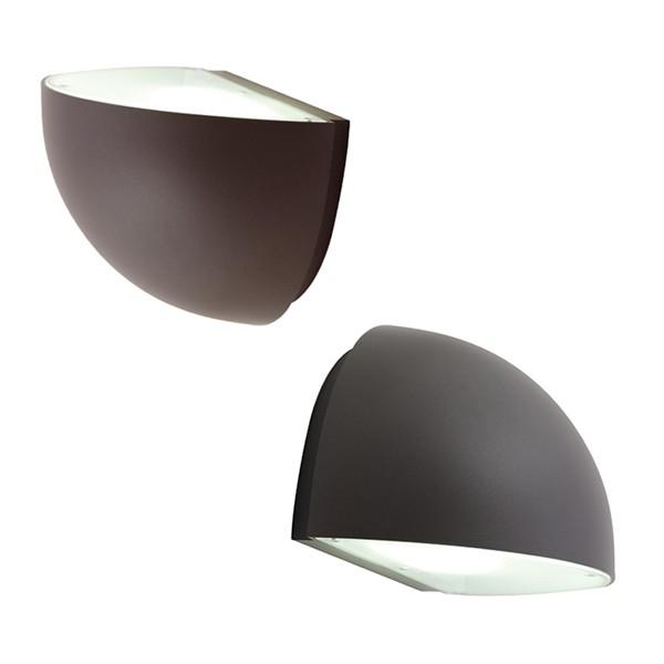 Ansell External Wall Lights : Ansell Duett Wall Light at UK Electrical Supplies.