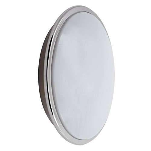 Wall Lights With Emergency : Ansell Eclipse 28W Chrome Wall Light with Emergency Battery Backup at UK Electrical Supplies.