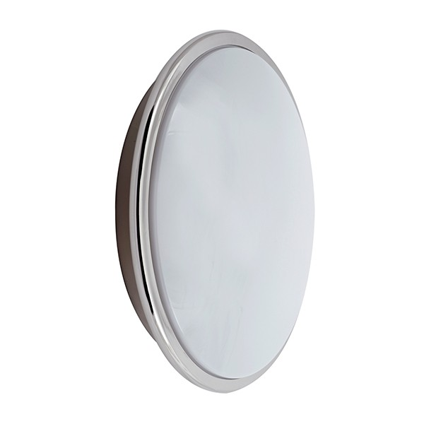 Ansell Eclipse 28W Chrome Wall Light with Digital Dimming at UK Electrical Supplies.