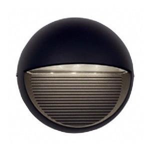 Ansell Kappa LED Black Wall Light